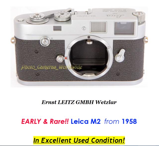 1958 Leica M2!